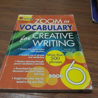 PSLE creative writing and vocab