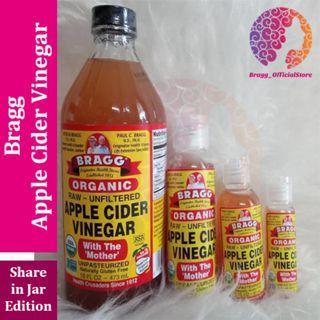 Bragg Apple Cider Vinegar - Cuka Apel Bragg