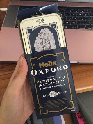 🚚 helix oxford set of mathematical instruments