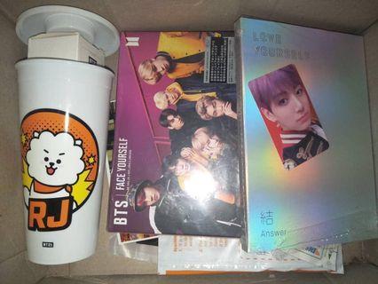 READY STOCK Tumbler CGV X BT21 RJ  Love Yourself: Answer album Face Yourself Japan B Version
