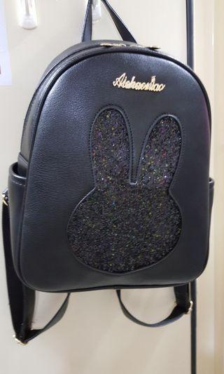 🚚 Black gritter bag pack