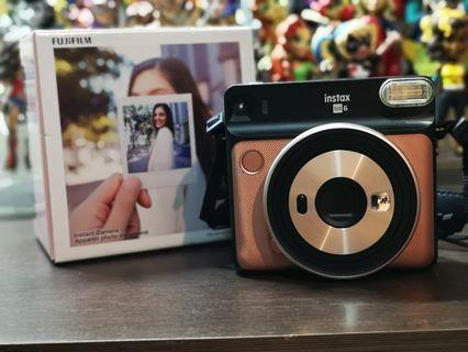 Fujifilm Instax Sq6 Rose Gold with box NO FILTERS