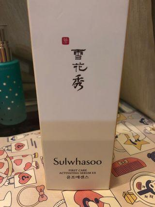 🚚 Sulwhasoo First Care activating serum