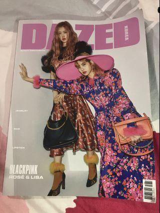 DAZED Korean LISA+Rosé Magazine