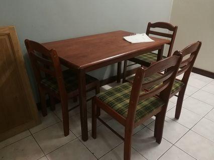 Sofa & dining set