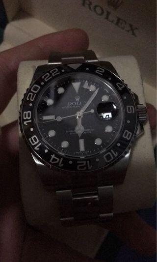 Rolex 116710 ln 綠針 888