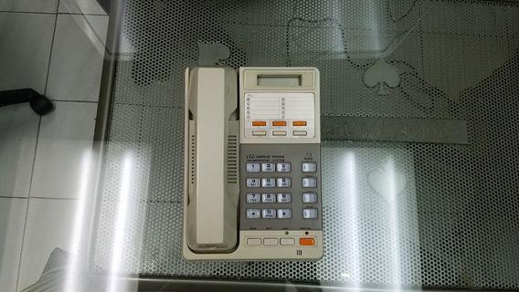 枱式免提撥號带LCD電話機 HandFree Dialing Telephone plus LCD  display