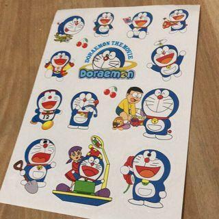 🚚 哆啦A夢防水貼紙