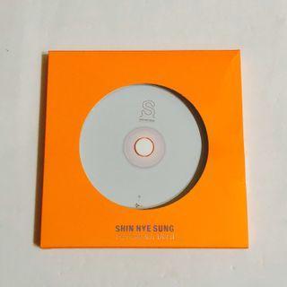 [CD] Shin Hye Sung - The Road Not Taken (S Version)
