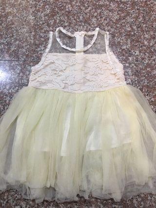 女童100cm蕾絲洋裝