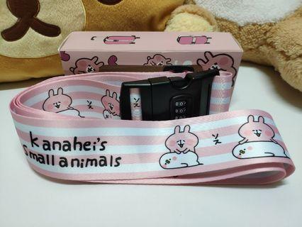 Kanahei P助& 兔兔 行李帶 B款