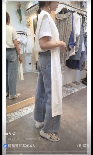 🚚 正韓高腰牛仔褲