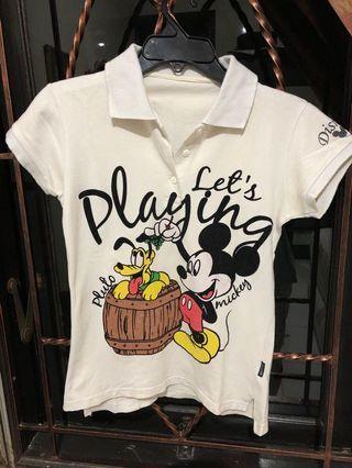 Polo Disney Putih