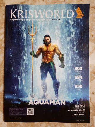 Jason Momoa - Aquaman KrisWorld May 2019 Magazine