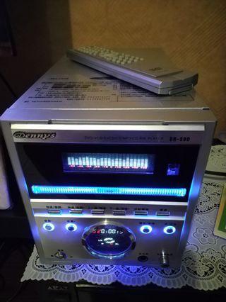 2.1Multimedia amplifier/DVD,CD,USB Player/Karaoke