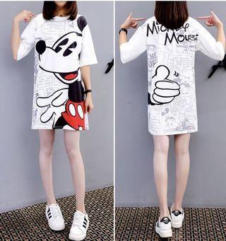 Mickey Mouse Tshirt Dress