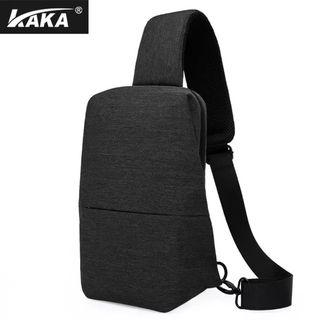 KAKA Chest Pack Mens Single Shoulder Bag Bag Satchel Bag Backpack All-match Student Multifunctional Ferrino Male