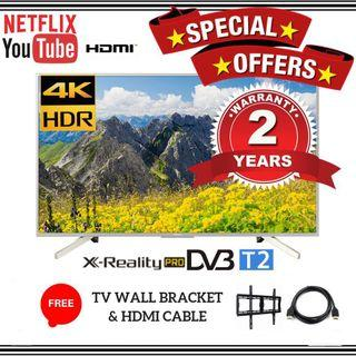 """(New)Sony 49"""" Android HDR 4K UHD Tv"""