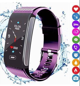 Smart Fitness Tracker (Purple)