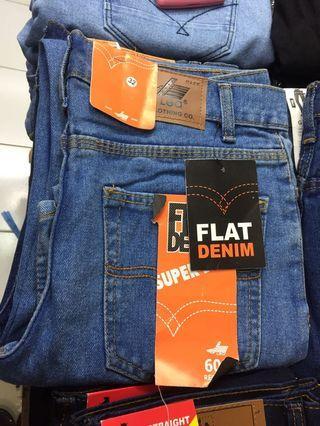 Celana Jeans standar pria uk 27-32