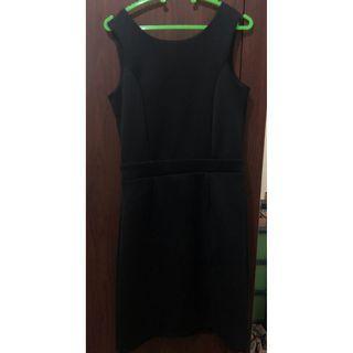Backless Dress Hitam