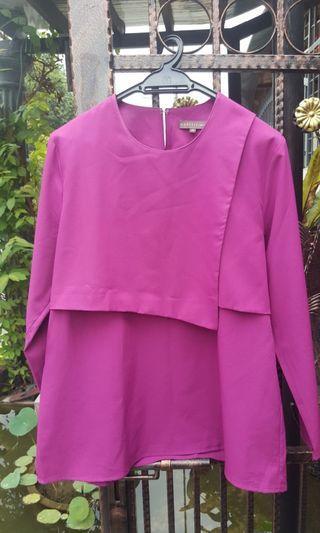 Blouse pink magenta