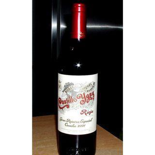 2001 Castillo Ygay Rioja Gran Reserva Especial Cosecha