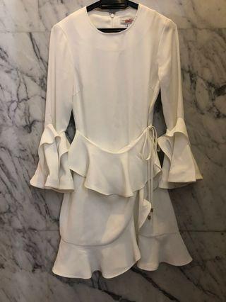 Rebecca Vallance White Dress