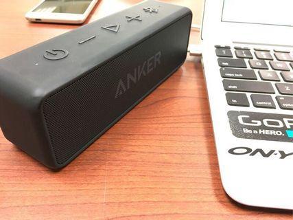 Anker soundcore 2 waterproof Bluetooth speaker