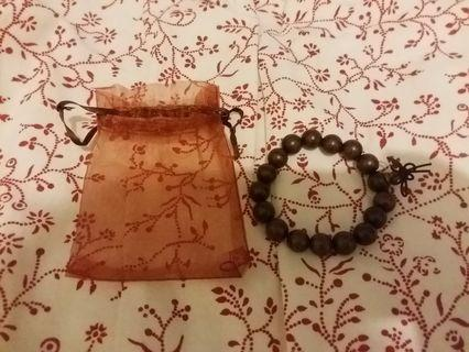 慈山寺 木珠手鏈 珠璉 手錬 wooden bracelet