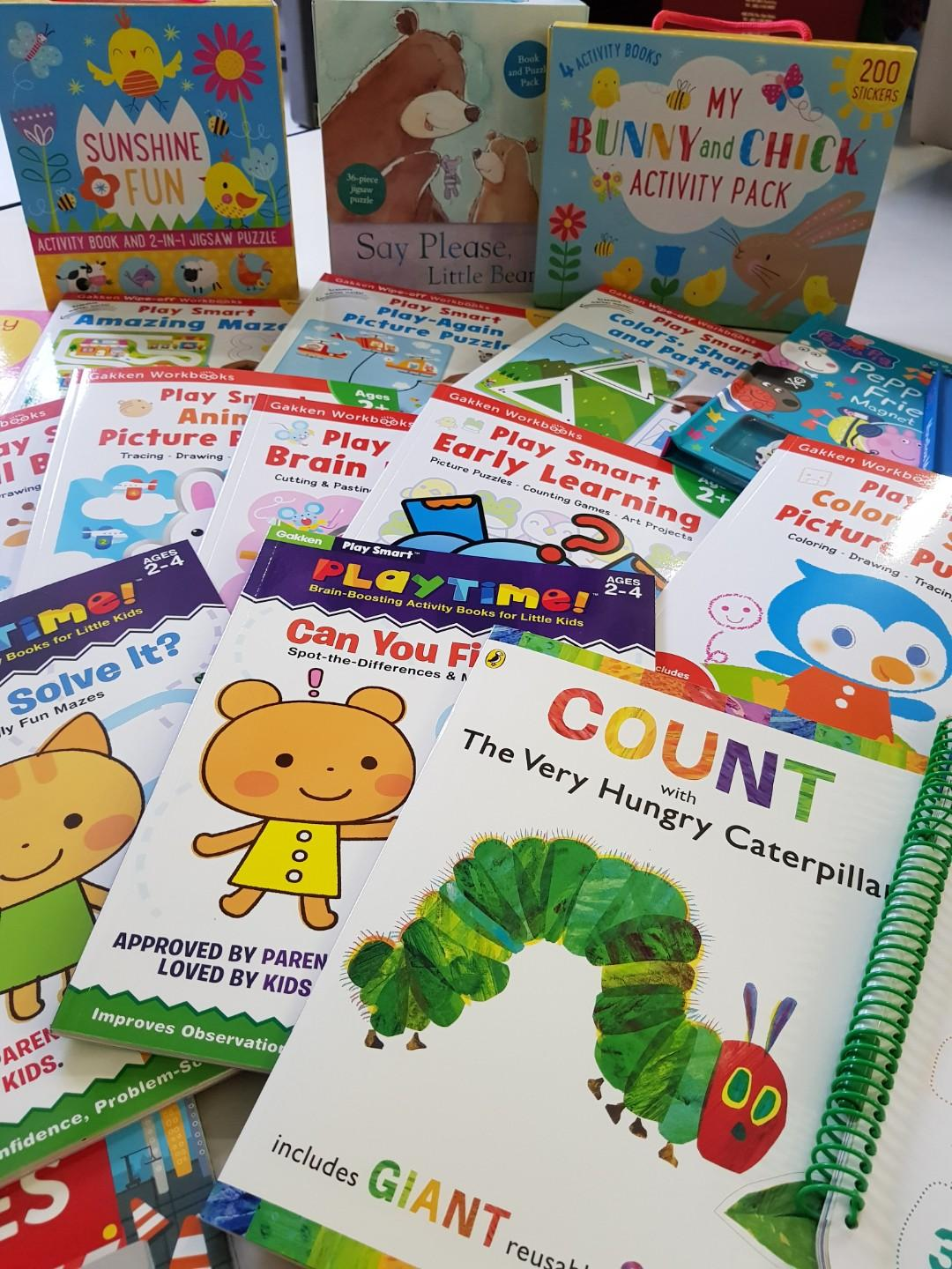 Activity books for 2 years old
