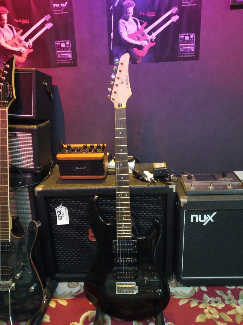 90% new 100%work Yamaha 電結他 electric guitar
