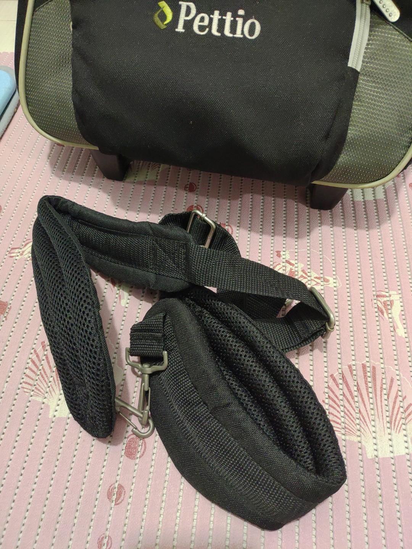 Pettio 寵物3用行李箱(軟殼)