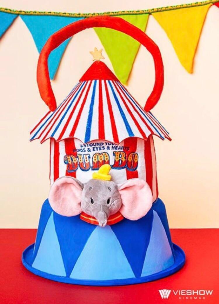 小飛象 爆米花袋 環保杯套 迪士尼 限量