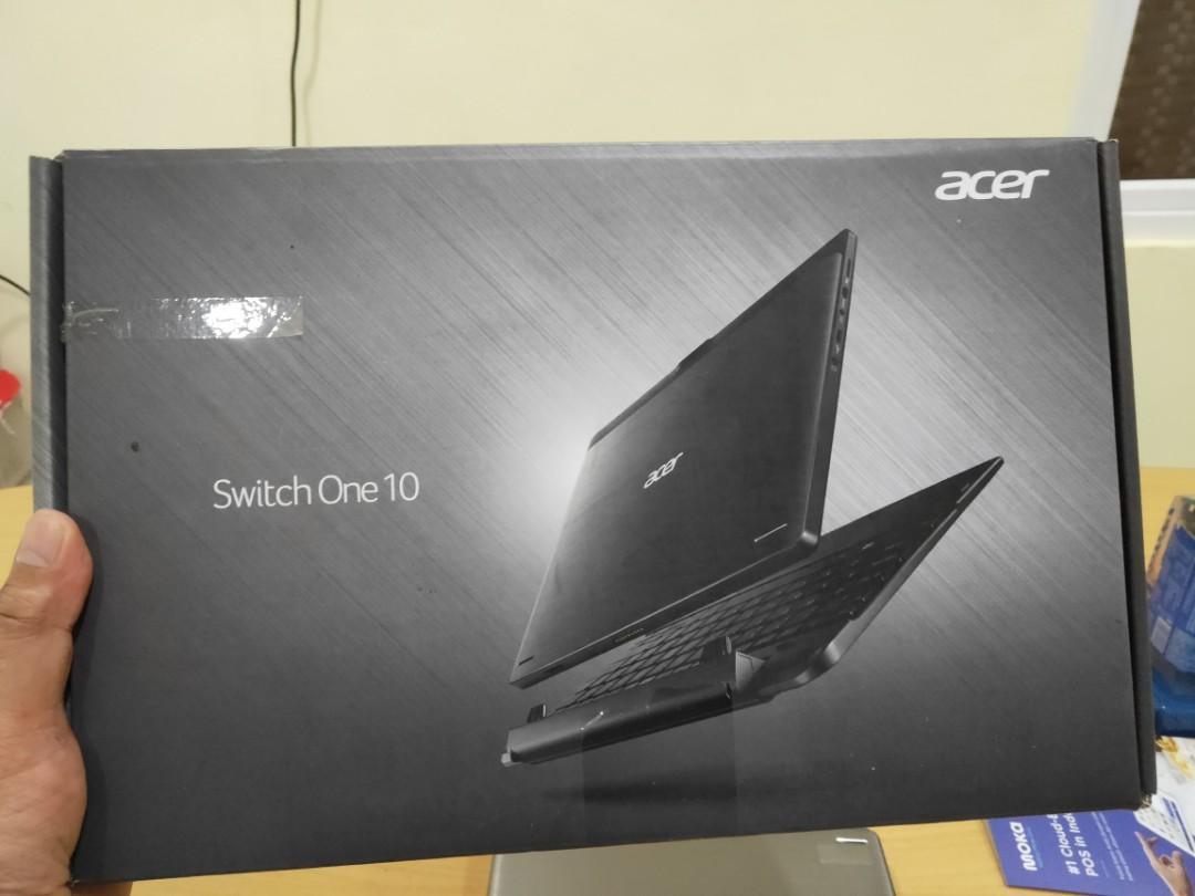 Acer Switch One 10 Bonus Windows Pro dsn Office 2019 Original