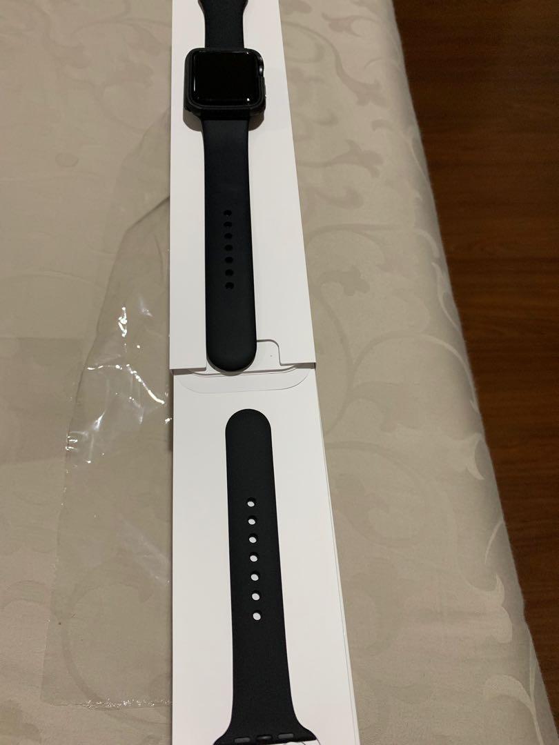 Apple Watch 42mm GPS Black Garansi Resmi