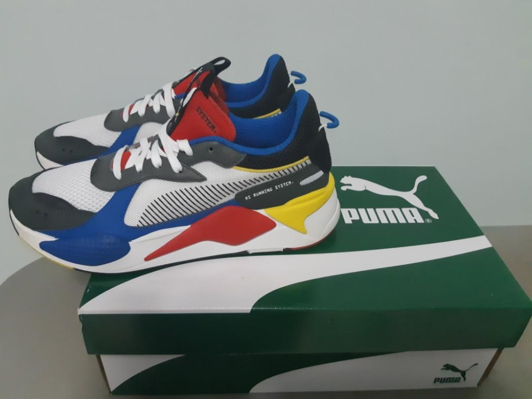 Authentic* PUMA RS-X toys running