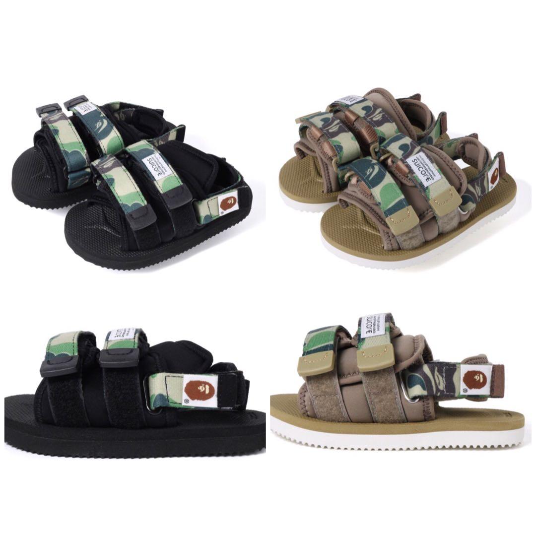 a149b0cf Bape x suicoke moto-2 sandals, Babies & Kids, Boys' Apparel, 4 to 7 Years  on Carousell
