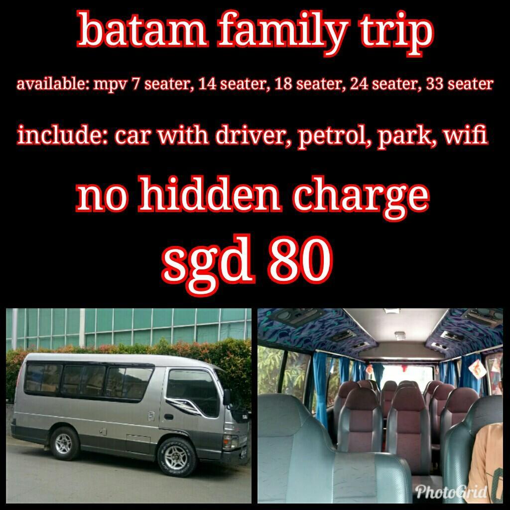 Batam family trip