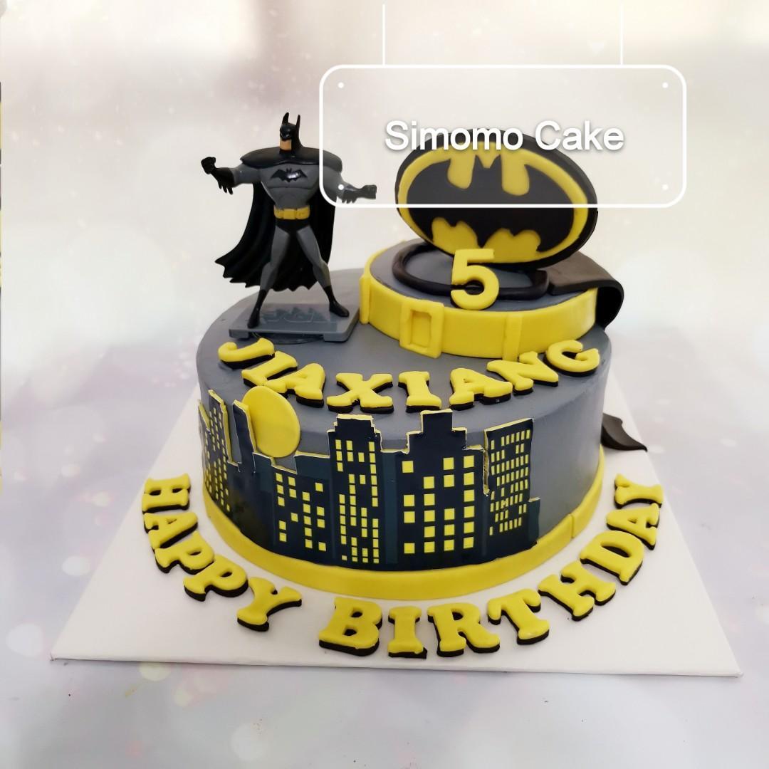 Batman cake, super hero cake (FREE DELIVERY)