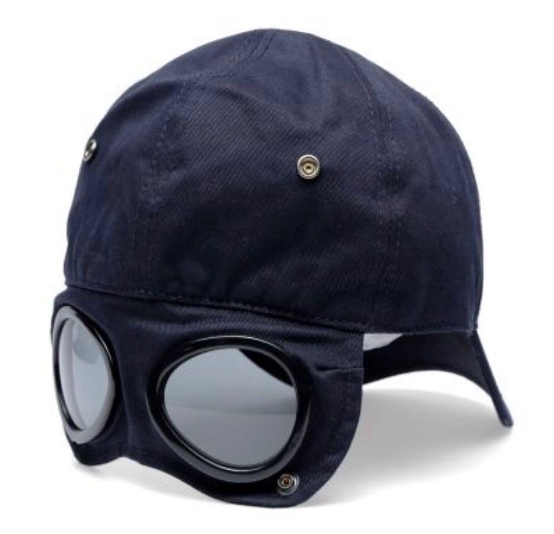 46a69d09d Biker C.P. Company Gabardine Cap Black, Men's Fashion, Accessories ...