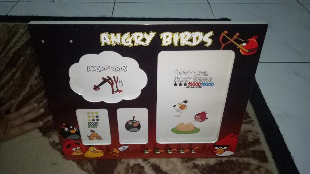 Bingkai Foto angry bird