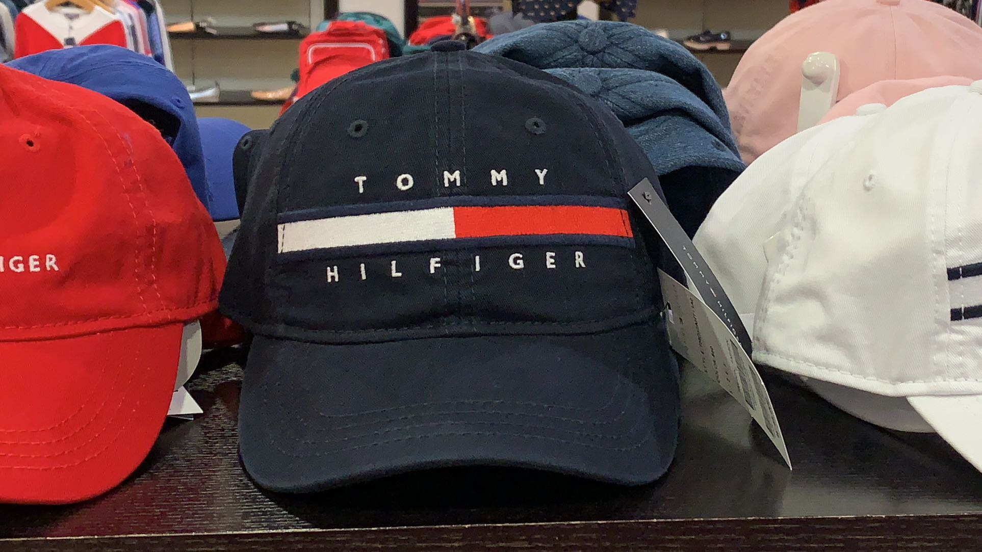 80784c933 BN Tommy Hilfiger Authentic Navy Blue Cap, Men's Fashion, Accessories, Caps  & Hats on Carousell
