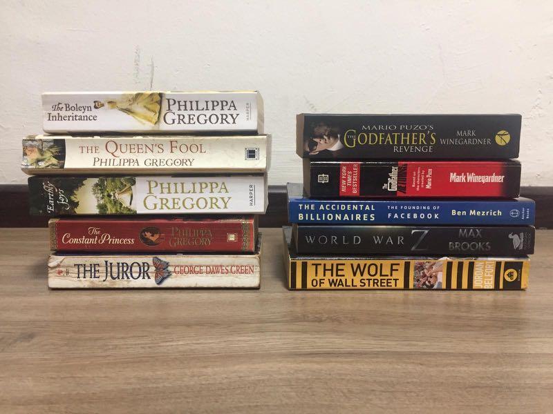 Books by: Jeffery Archer John Grisham Agatha Christie Philippa Gregory