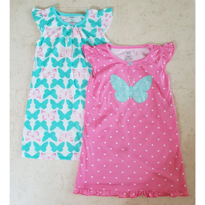 39362505f [Brand New] (2T-3T, 4T-5T, 6T-7T) Carters Pajamas, Babies & Kids, Girls'  Apparel, 1 to 3 Years on Carousell