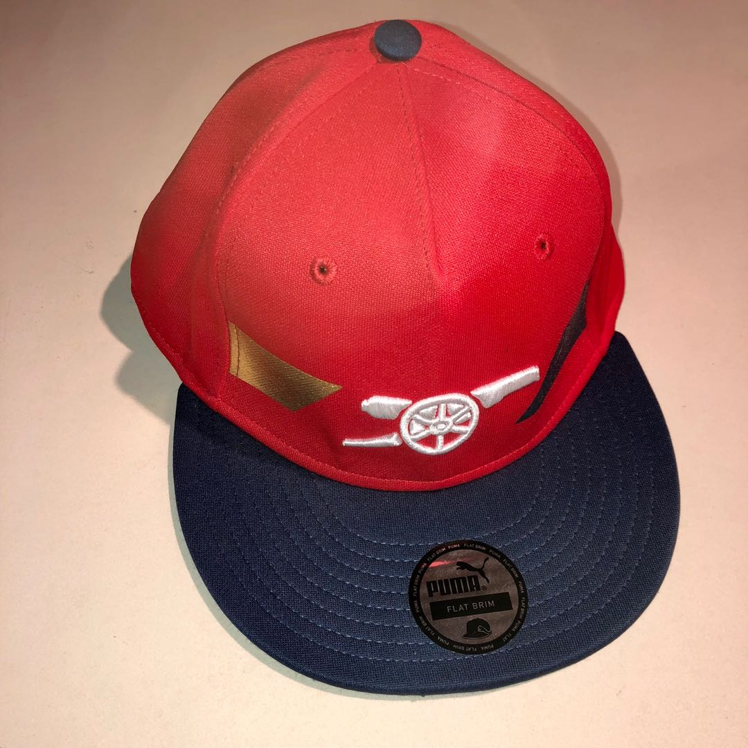 8e12247d955e2e Brand New Puma Arsenal Cap, Men's Fashion, Accessories, Caps & Hats ...