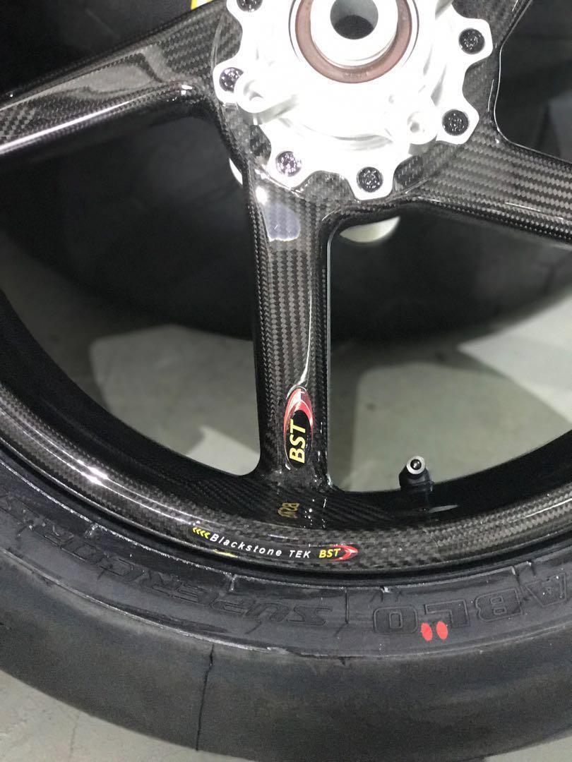 Bst Carbon Wheels For Triumph Daytona 675r Motorbikes Motorbike