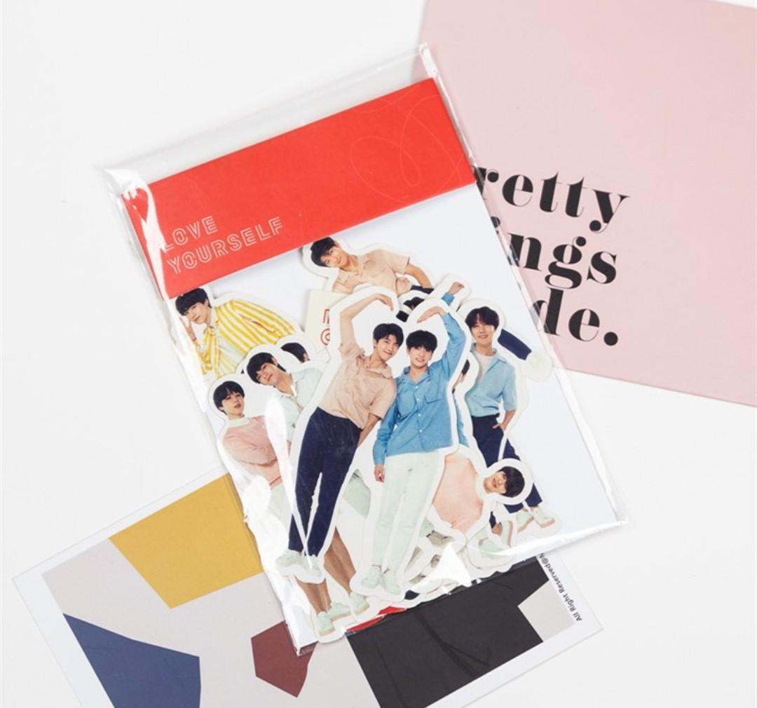 BTS LOVE YOURSELF STICKER