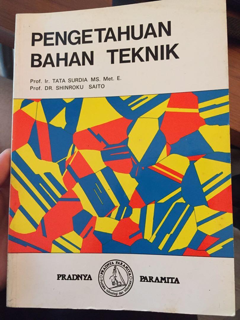 Buku pengetahuan bahan teknik