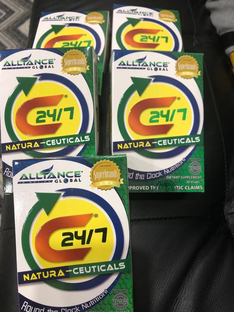C24/7 Natura Ceuticals multivitamins dietary supplement